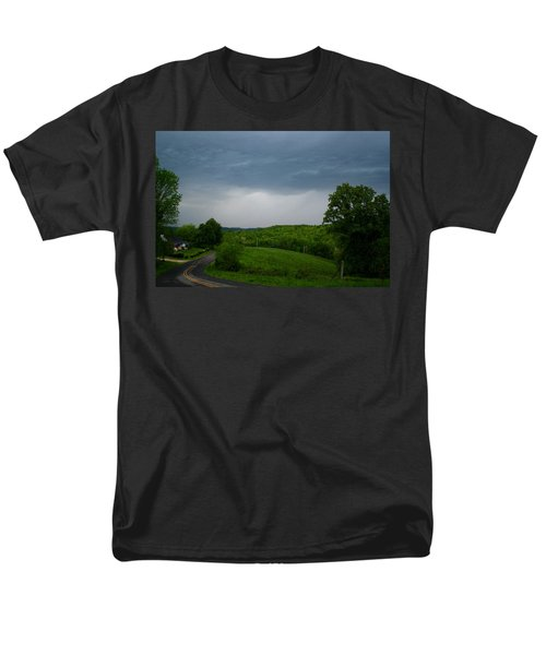 Men's T-Shirt  (Regular Fit) featuring the photograph Thunderstorm by Kathryn Meyer