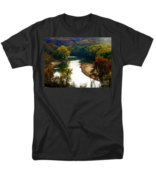 Men's T-Shirt  (Regular Fit) featuring the photograph Tranquil View by Peggy Franz