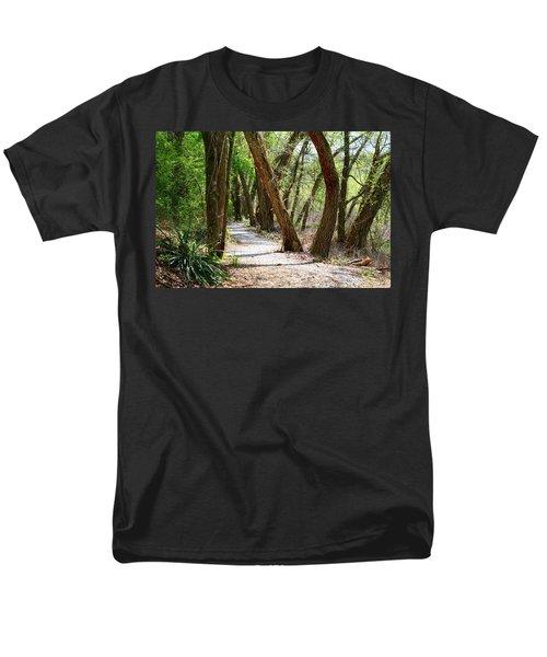 Men's T-Shirt  (Regular Fit) featuring the photograph Trestle Walk by Kathryn Meyer
