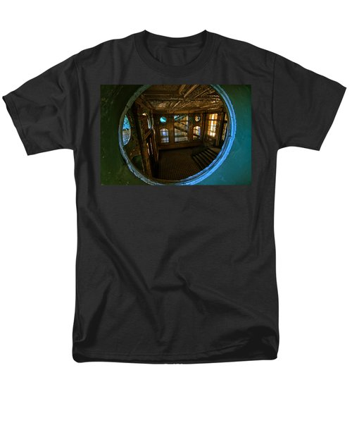 Trough The Round Window Men's T-Shirt  (Regular Fit) by Nathan Wright
