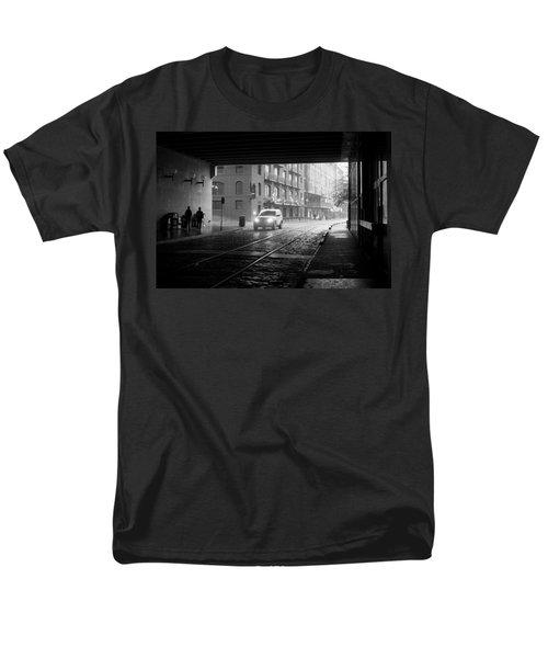 Tunnel I Men's T-Shirt  (Regular Fit) by Lynn Palmer