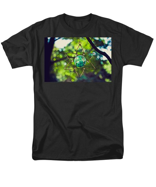 Men's T-Shirt  (Regular Fit) featuring the photograph Turquoise Light by Sara Frank