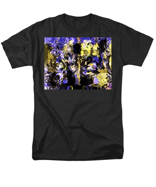 Untitled Blue Men's T-Shirt  (Regular Fit) by Terence Morrissey