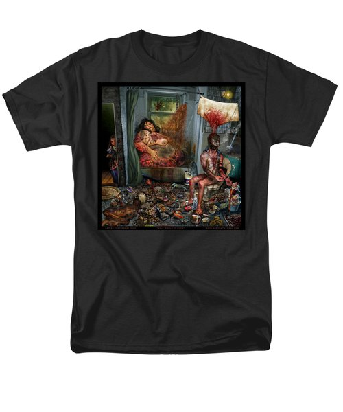 Vile World To View Men's T-Shirt  (Regular Fit) by Tony Koehl