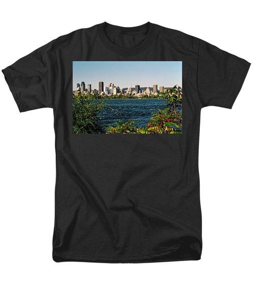 Men's T-Shirt  (Regular Fit) featuring the photograph Ville De Montreal by Juergen Weiss