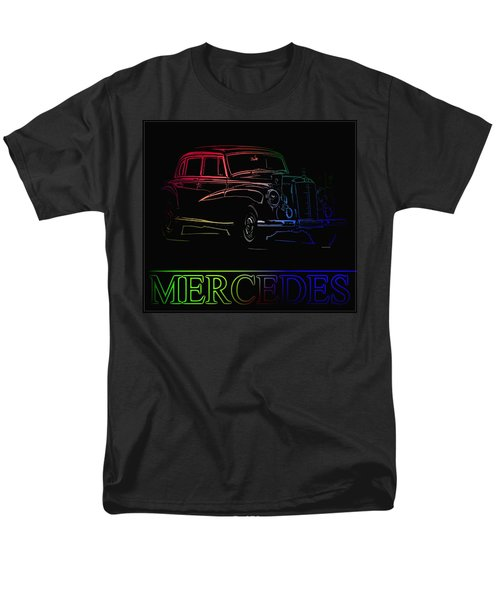 Men's T-Shirt  (Regular Fit) featuring the photograph Vintage Mercedes by George Pedro