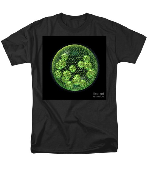 Men's T-Shirt  (Regular Fit) featuring the digital art Volvox by Russell Kightley