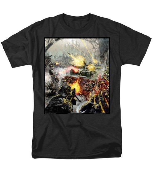 Wars Are Designed To Destroy  Men's T-Shirt  (Regular Fit) by Tony Koehl