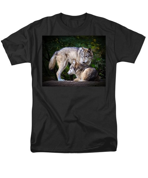 Men's T-Shirt  (Regular Fit) featuring the photograph Watching Over by Steve McKinzie