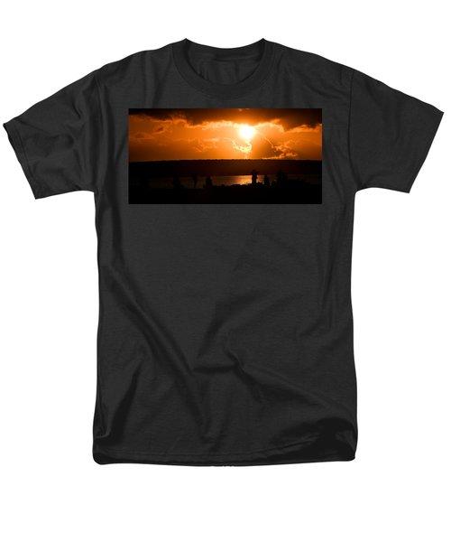 Watching Sunset Men's T-Shirt  (Regular Fit) by Yew Kwang