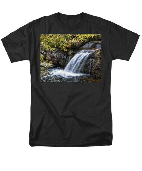 Men's T-Shirt  (Regular Fit) featuring the photograph Waterfall by Hugh Smith