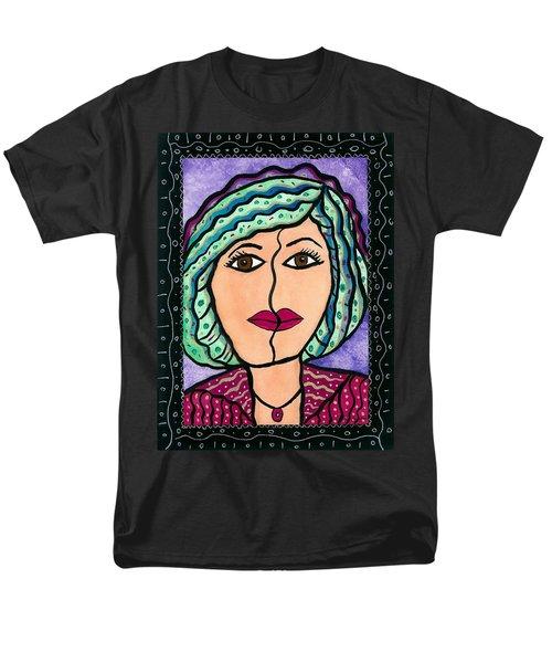What Lies Beneath Men's T-Shirt  (Regular Fit) by Vickie G Buccini
