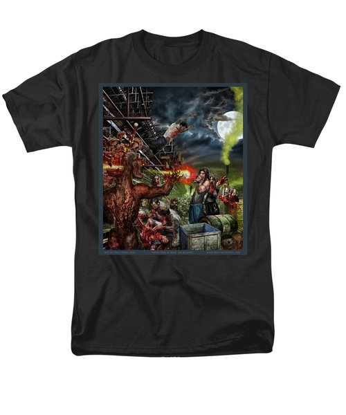 When Food Is Gone We Become.. Men's T-Shirt  (Regular Fit) by Tony Koehl
