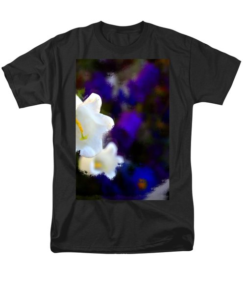 White Purple Men's T-Shirt  (Regular Fit) by Terence Morrissey