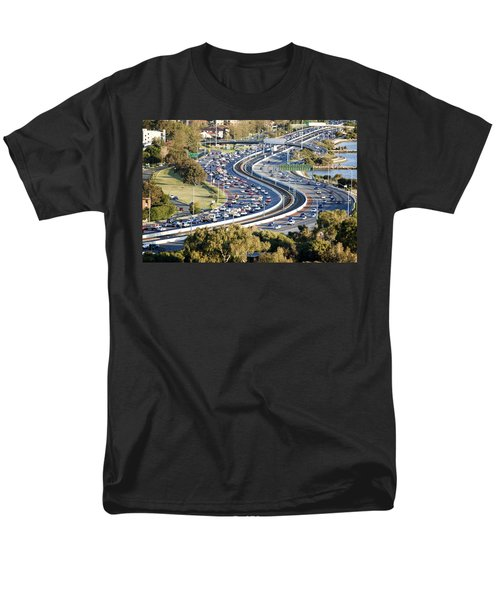 Men's T-Shirt  (Regular Fit) featuring the photograph Winding Road by Yew Kwang