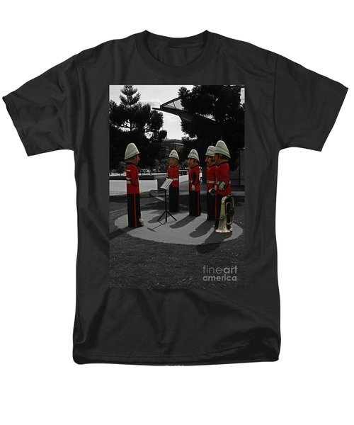 Men's T-Shirt  (Regular Fit) featuring the photograph Wooden Bandsmen by Blair Stuart