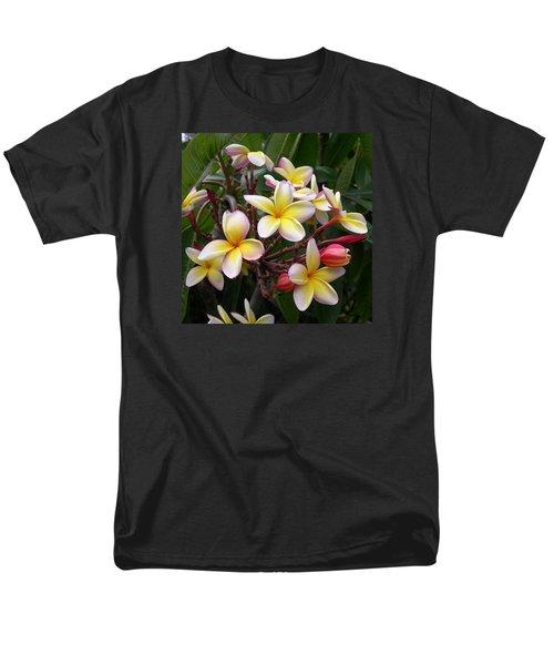 Yellow Plumeria Men's T-Shirt  (Regular Fit)