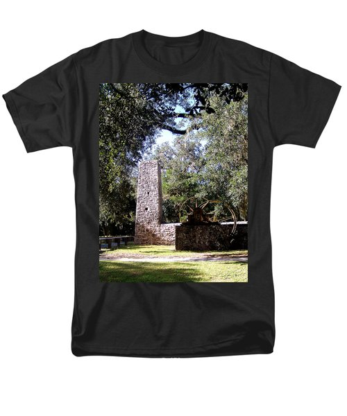 Yulee Sugarmill 1 Men's T-Shirt  (Regular Fit) by Judy Wanamaker