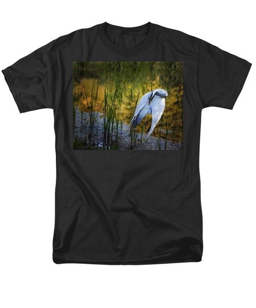 Zen Pond Men's T-Shirt  (Regular Fit) by Melinda Hughes-Berland