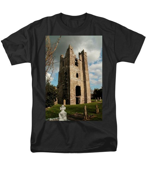 Church In Duleek. Men's T-Shirt  (Regular Fit) by Martina Fagan