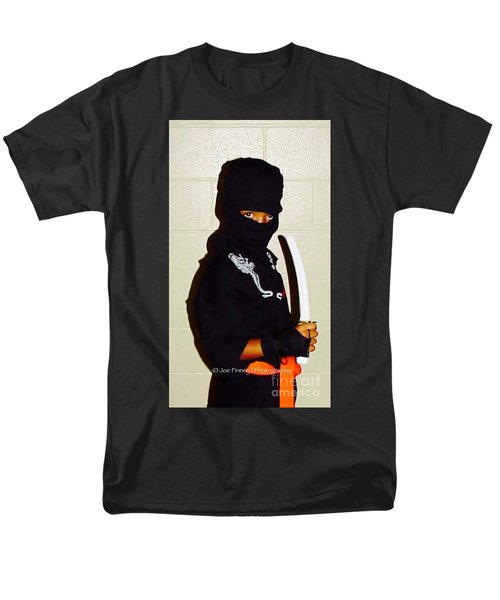 Men's T-Shirt  (Regular Fit) featuring the photograph  Little Ninja - No.1998 by Joe Finney