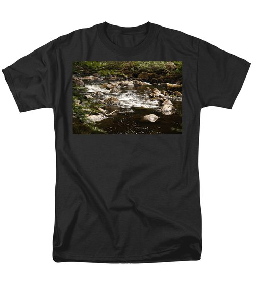 Little Stream At The Hermitage Men's T-Shirt  (Regular Fit) by Martina Fagan
