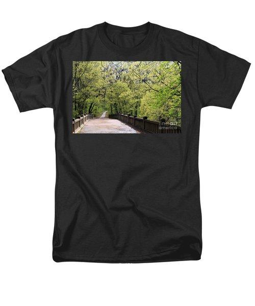 Matthiessen State Park In Spring Men's T-Shirt  (Regular Fit) by Paula Guttilla