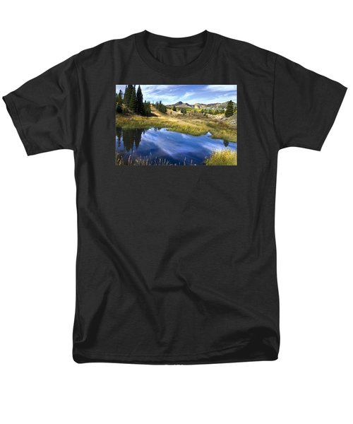 Men's T-Shirt  (Regular Fit) featuring the photograph  Road To Steamboat Lake by John Hix