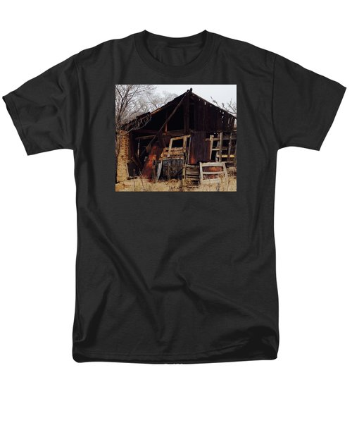 Men's T-Shirt  (Regular Fit) featuring the photograph Barn by Erika Chamberlin