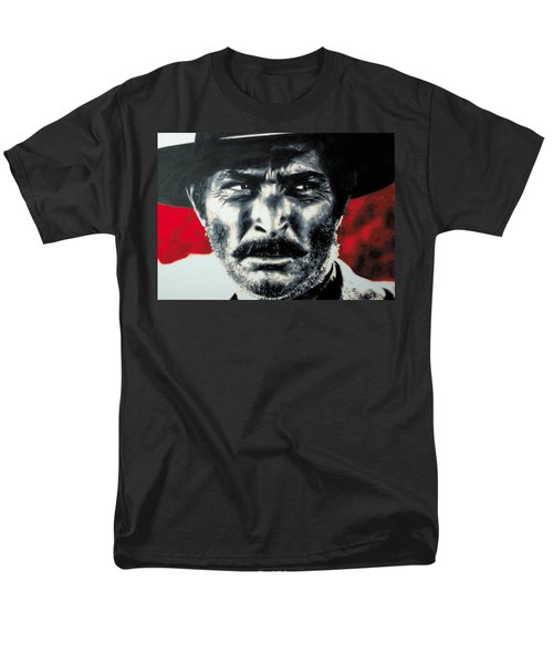 - The Good The Bad And The Ugly - Men's T-Shirt  (Regular Fit) by Luis Ludzska