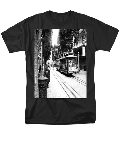021016 San Francisco Trolly Men's T-Shirt  (Regular Fit) by Garland Oldham