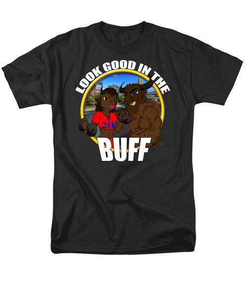 013 Look Good In The Buff Men's T-Shirt  (Regular Fit) by Michael Frank Jr