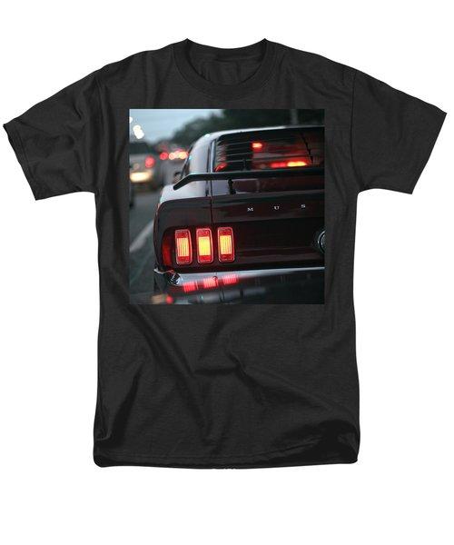 Men's T-Shirt  (Regular Fit) featuring the photograph 1969 Ford Mustang Mach 1 by Gordon Dean II