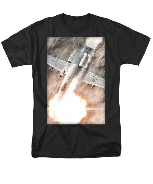 A-10 Thunderbolt II Men's T-Shirt  (Regular Fit) by David Collins