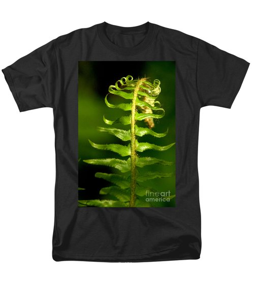 A Light In The Forest Men's T-Shirt  (Regular Fit) by Sean Griffin