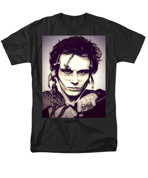 Adam Ant Men's T-Shirt  (Regular Fit) by Fred Larucci