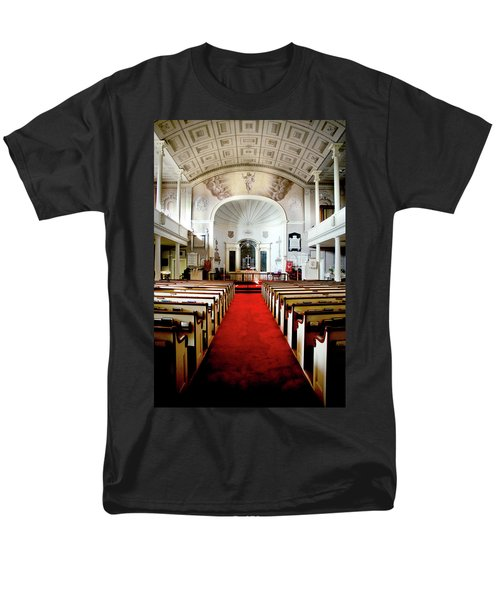Men's T-Shirt  (Regular Fit) featuring the photograph Aisle Of God by Greg Fortier