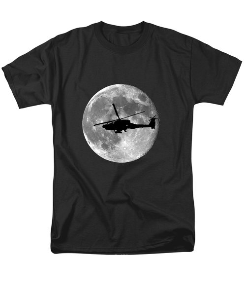 Apache Moon .png Men's T-Shirt  (Regular Fit) by Al Powell Photography USA