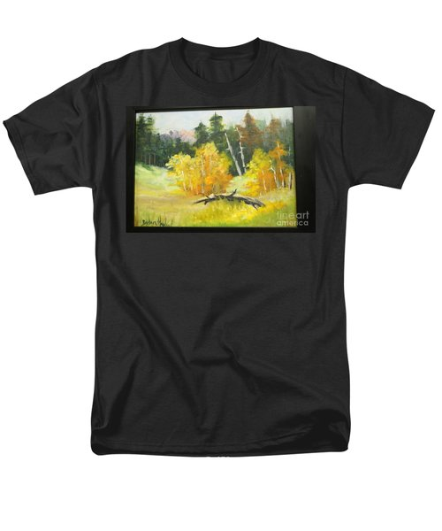 Aspens En Plein Air Men's T-Shirt  (Regular Fit)
