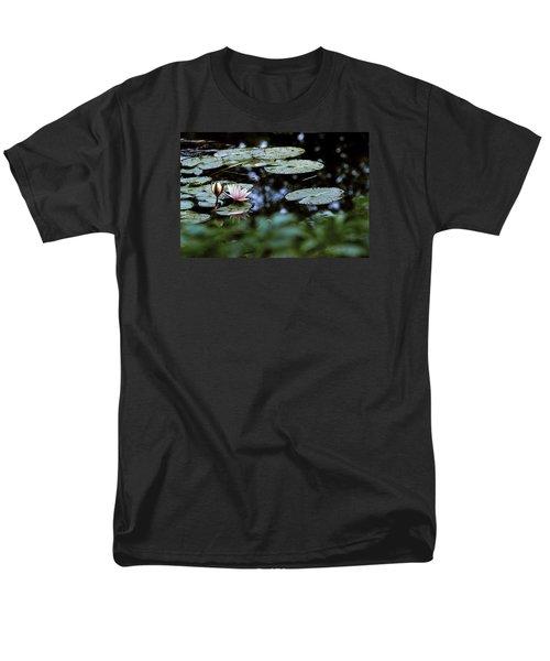 Men's T-Shirt  (Regular Fit) featuring the photograph At Claude Monet's Water Garden 6 by Dubi Roman