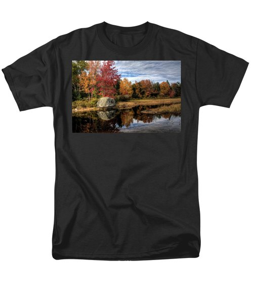 Autumn In Maine Men's T-Shirt  (Regular Fit) by Greg DeBeck