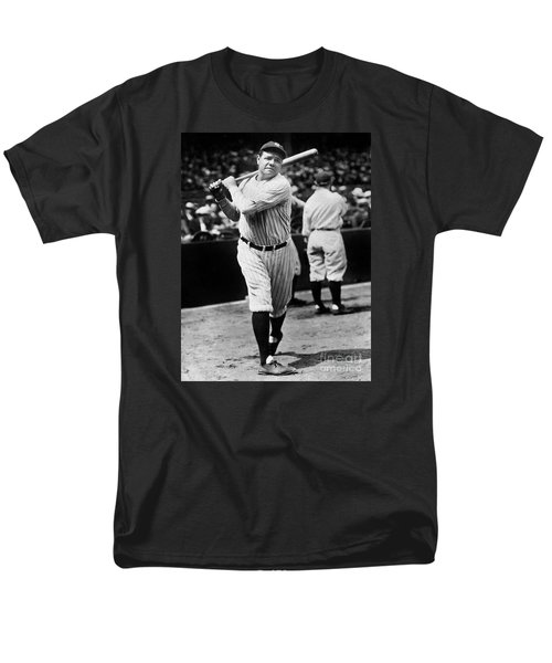 Babe Ruth Men's T-Shirt  (Regular Fit) by American School