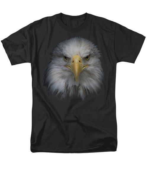 Bald Eagle Men's T-Shirt  (Regular Fit) by Ernie Echols