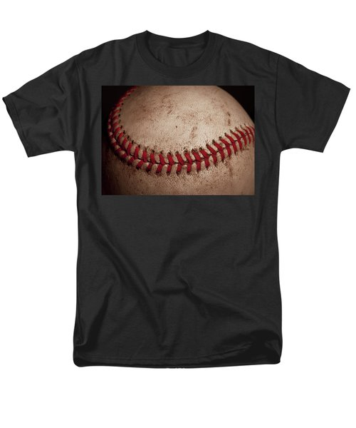 Men's T-Shirt  (Regular Fit) featuring the photograph Baseball Seams by David Patterson