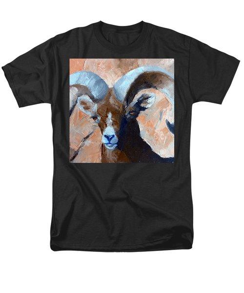 Bighorn Sheep Men's T-Shirt  (Regular Fit) by Susan Woodward