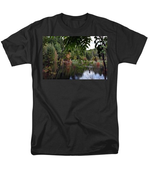 Men's T-Shirt  (Regular Fit) featuring the photograph Blueberry Mountain by Pat Purdy
