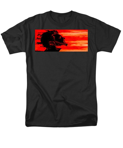 Men's T-Shirt  (Regular Fit) featuring the digital art Break by Ken Walker