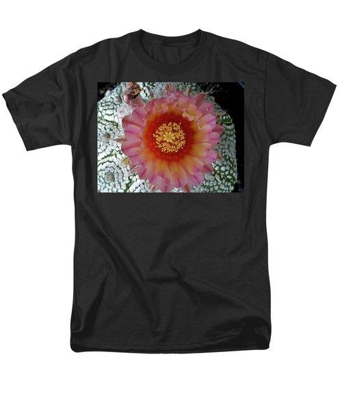 Cactus Flower 5 Men's T-Shirt  (Regular Fit) by Selena Boron