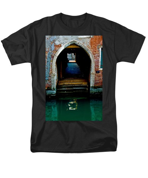 Canal Entrance Men's T-Shirt  (Regular Fit) by Harry Spitz