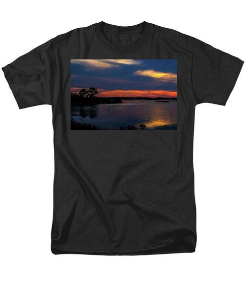 Men's T-Shirt  (Regular Fit) featuring the photograph Ceader Key Florida  by Louis Ferreira